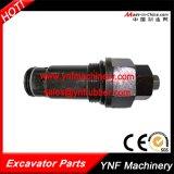 Válvula do cano principal de sopro da máquina escavadora para KOMATSU PC200-3