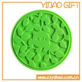 Вся циновка чашки силикона сбывания с изготовленный на заказ логосом (YB-CM-06)