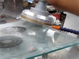 形のガラス端の粉砕機