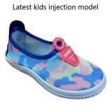 Низкая цена ягнится ботинки спортов ботинок холстины впрыски модельные (HH0803)