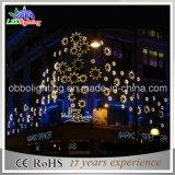 Luz ao ar livre da parede da decoração do Natal do canto do hotel da casa de campo da luz da parede da estrela do diodo emissor de luz