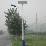 réverbère solaire de 6m~12m avec le panneau solaire