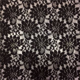 Tela africana del cordón de la materia textil casera química francesa para la señora Garments/alineada
