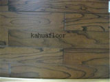 Llevar impermeable de múltiples capas de madera maciza