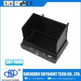 receptor de diversidade da diversidade Sky-700d de 5.8g 32CH, monitor e DVR