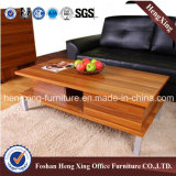 con la mesa de centro tamaño pequeño de la sala de estar de las piernas del metal (HX-6M342)