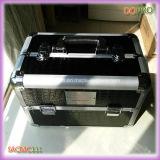 고품질 두 배 열리는 알루미늄 매니큐어 예 상자 (SACMC111가)