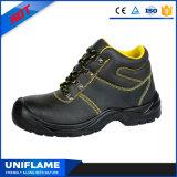 유행 산업 가죽 안전 단화 일 신발 Ufa033