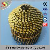 Cubrir el clavo de la bobina para el fabricante de clavos de la bobina
