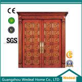 Projeto de madeira contínuo da porta para a casa com o E1 (WDP1007)