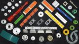 Trilho de guias plástico da garganta do transporte com rolo (Har610-2)