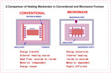 Hornos microondas del laboratorio de los sistemas de transmisión de microonda