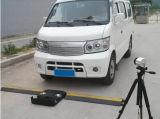 車の保安検査装置の下