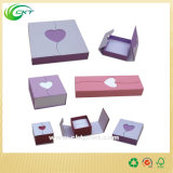 Cadres de montre de luxe de carton, cadre de empaquetage de boucle (CKT-CB-760)