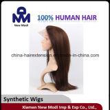 中国の直毛のかつらの安く総合的なかつら
