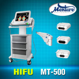 Peau de déplacement de ride de levage de face de Hifu serrant l'équipement médical