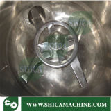 Maquinaria de mezcla de alta velocidad caliente y de enfriamiento para el polvo del PVC