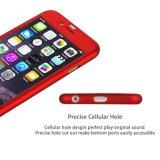 De uiterst dunne Volledige Dekking Slanke iPhone6 van het Lichaam met de Aangemaakte Beschermer van het Scherm van het Glas