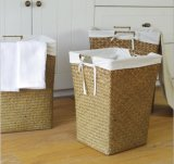 (BC-ST1076) 좋은 품질 순수한 수동 자연적인 밀짚 세탁물 바구니