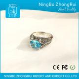Klassieke Retro Ring 925 van de Manier de Echte Zilveren Reeks van de Bloem van Juwelen