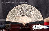 Ventilador tradicional de madera de la mano de China para el regalo asombroso para el regalo del cumpleaños y de boda
