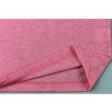Il cotone poco costoso dentellare della pianura 95 5 magliette dello Spandex comercia