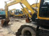Bêcheur utilisé de roue de l'excavatrice 60W-7 de roue de Hyundai
