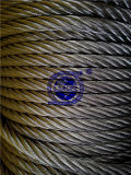De roestvrije Verklaarde Kabel van de Draad ISO9001