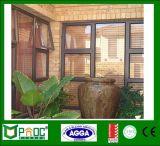 Lo stile americano di alluminio sceglie Windows appeso con doppio vetro Pnocshw0004