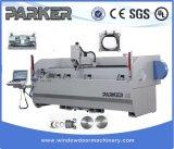 Parker CNC Drie Machinaal bewerkende Centrum van de Gordijngevel van het Aluminium van de As het Volledige Automatische