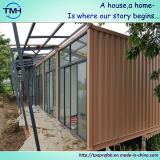 Полуфабрикат дом контейнера в домашней конструкции