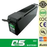 bateria profunda do ciclo dos projetos solares Telecom solares terminais dianteiros da telecomunicação da bateria do gabinete de potência da bateria de uma comunicação da bateria do GEL do acesso 12V75AH