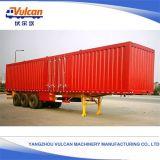 Do fabricante da luz 3 dos eixos de recipiente do transporte da caixa do caminhão reboque Semi