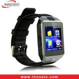 Reloj elegante de Bluetooth de la aptitud al por mayor de la fábrica Dz09 con buena calidad