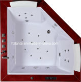 Vasca da bagno di massaggio di prezzi più bassi e di alta qualità (TLP-667-Wood)
