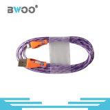 Projeto especial colorido com cabo de dados do USB da iluminação do diodo emissor de luz