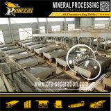 Separação de gravidade do processamento de minério de Stannum que agita a máquina de mineração do estanho da tabela