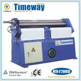 Máquina de rolamento de aço assimétrica manual ou mecânica ou hidráulica da placa de metal de três rolos