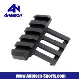 Anbison 스포츠 Airsoft 금속 20mm Picatinny 가로장을%s 1 시 측 마운트