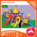 Equipo plástico de la diapositiva del patio al aire libre de los cabritos del parque de atracciones