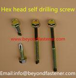 Hex Kopf-Selbstbohrende Schraube