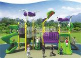 Kaqi Ausländer-Serien-Kind-im Freien Plastikspielplatz-Gerät mit Abenteuer-Plättchen und Bergsteigern