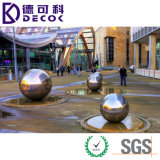 Fabbrica Supply 304 316 Stainless Steel Sphere con Water Feature