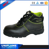 Стильная промышленная кожаный обувь Ufa033 работы ботинок безопасности
