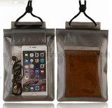 Bolso impermeable de la playa, bolso impermeable del PVC para el teléfono móvil