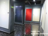 Porte lustrée élevée de forces de défense principale d'acrylique pour le Module de cuisine (DM9656)