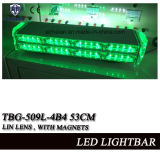 Zwei MiniLightbar Warnleuchten der Schicht-LED mit linearem Objektiv, Cig-Stecker