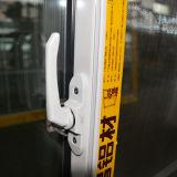 Puder-überzogenes schiebendes Aluminiumfenster mit Rasterfeld/schiebendem Aluminiumfenster Kz007