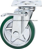 6 Inch Fixed Highquality Caster mit Steel Core Rubber Caster Wheel, Janpanese Style