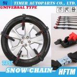 Correntes de neve Emergency Chain antiderrapagem da segurança